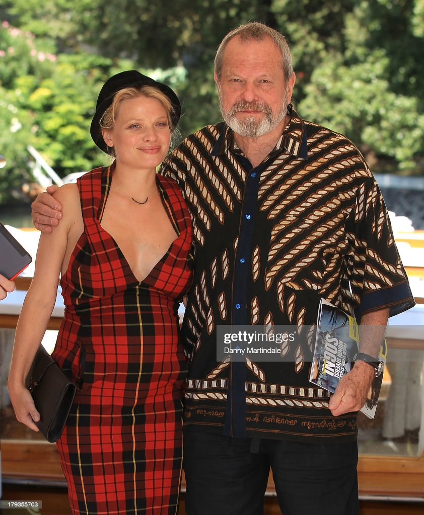 Actress Melanie Thierry and director Terry Gilliam attend day 6 of the 70th Venice International Film Festival on September 2, 2013 in Venice, Italy.