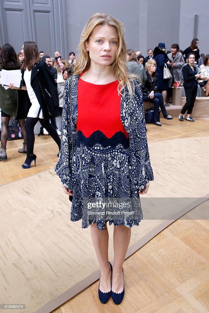 Chloe : Front Row  - Paris Fashion Week Womenswear Fall/Winter 2016/2017