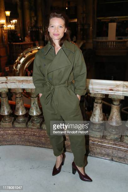 Actress Melanie Thierry attends the Stella McCartney Womenswear Spring/Summer 2020 show as part of Paris Fashion Week on September 30, 2019 in Paris,...