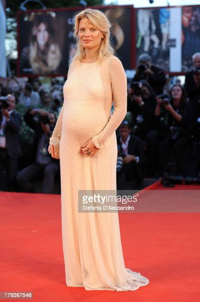 Actress Melanie Thierry attends the 'The Zero Theorem' Premiere during the 70th Venice International Film Festival at Sala Grande on September 2 2013...