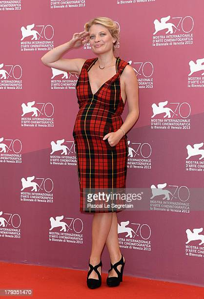 Actress Melanie Thierry attends 'The Zero Theorem' Photocall during the 70th Venice International Film Festival at the Palazzo del Casino on...