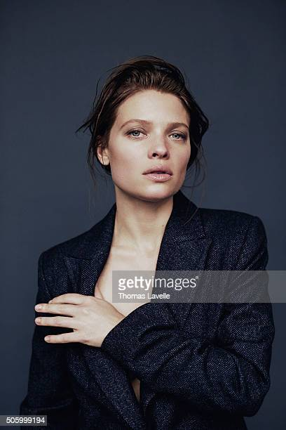 Actress Melanie Thierry is photographed for Self Assignment on November 27 2015 in Paris France