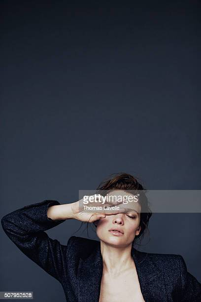 Actress Melanie Thierry is photographed for Self Assignment on November 27, 2015 in Paris, France.