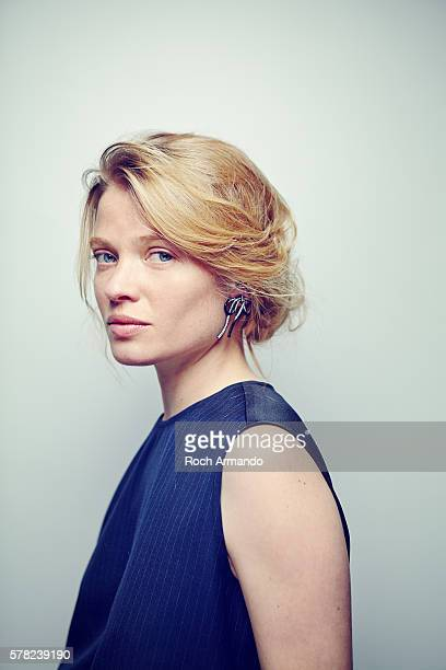 Actress Melanie Thierry is photographed for Self Assignment on June 21 2015 in Cabourg France