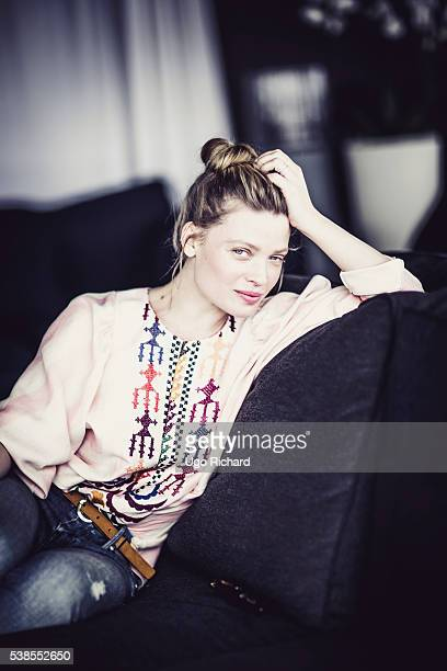 Actress Melanie Thierry is photographed for Self Assignment on May 15 2016 in Cannes France