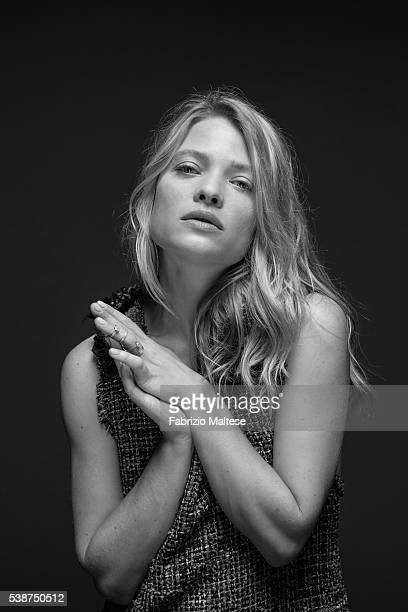 Actress Melanie Thierry is photographed for The Hollywood Reporter on May 14, 2016 in Cannes, France.