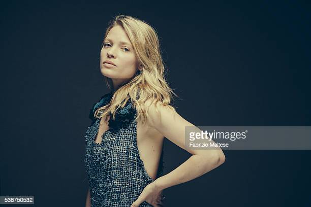 Actress Melanie Thierry is photographed for The Hollywood Reporter on May 14 2016 in Cannes France