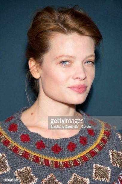 Actress Melanie Thierry, nominated for Best Supporting Actress for the movie 'Au Revoir la Haut' attends the Cesar 2018 - Nominee Luncheon at Le...