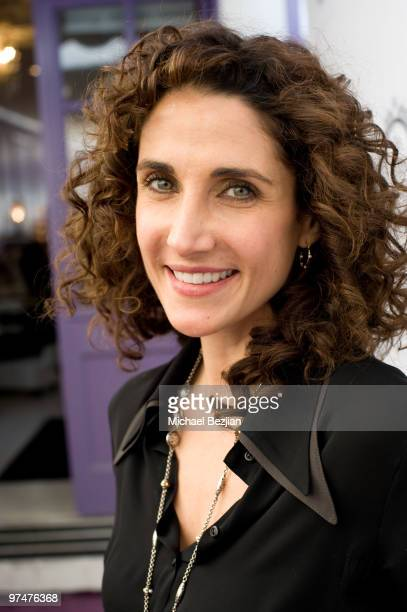 Actress Melina Kanakaredes attends the Painted Nail and Ask Music Group Oscar Gifting Suite on March 5 2010 in Sherman Oaks California