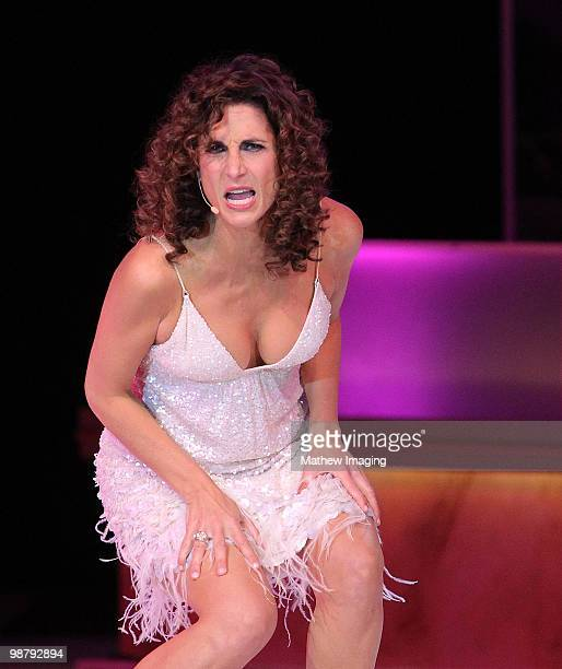COVERAGE*** Actress Melina Kanakaredes performs at the 5th Annual A Fine Romance at 20th Century Fox on May 1 2010 in Los Angeles California