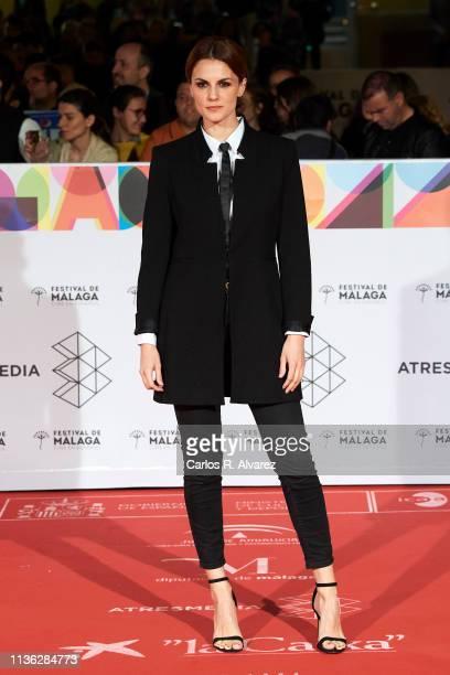 Actress Melina Matthews attends 'Esto no es Berlin' premiere during the 22th Malaga Film Festival on March 16 2019 in Malaga Spain