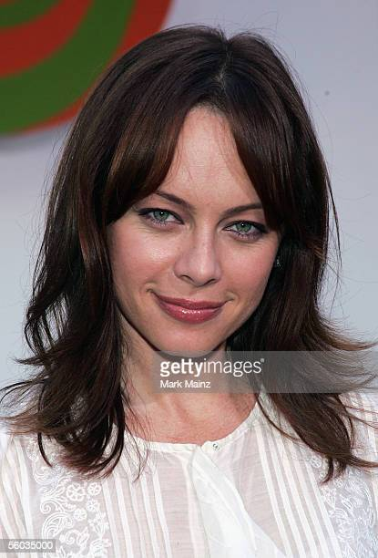 """Actress Melinda Clarke attends the premiere for the Disney Animated Feature """"Chicken Little"""" at the El Capitan Theatre October 30, 2005 in Los..."""