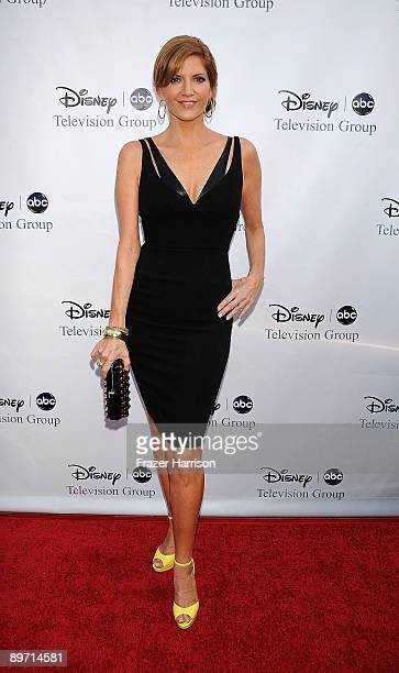 Actress Melinda McGraw arrives at DisneyABC Television Group Summer Press Tour Party at The Langham Hotel on August 8 2009 in Pasadena California