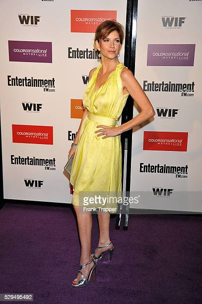 Actress Melinda McGraw arrives at Entertainment Weekly and Women In Film preEmmy party held at the Sunset Marquis Hotel