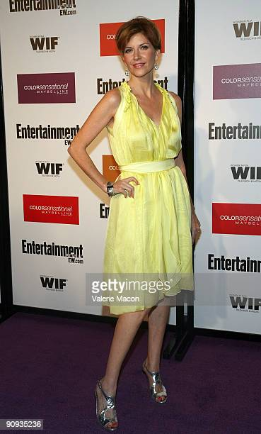 Actress Melinda McGraw arrives at the Entertainment Weekly And Women In Film's PreEmmy Party on September 17 2009 in Los Angeles California
