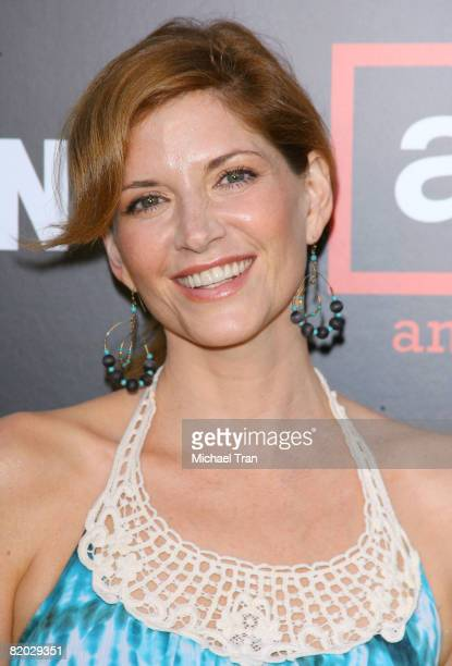 Actress Melinda McGraw arrives at the premiere of 'Mad Men' Season 2 hosted by AMC held at the Egyptian Theatre on July 21 2008 in Hollywood...