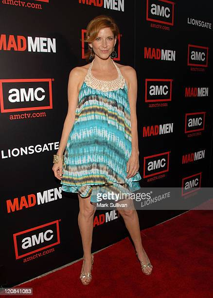 Actress Melinda McGraw arrives at The Second Season Of Mad Men premiere on July 21 2008 in Hollywood California