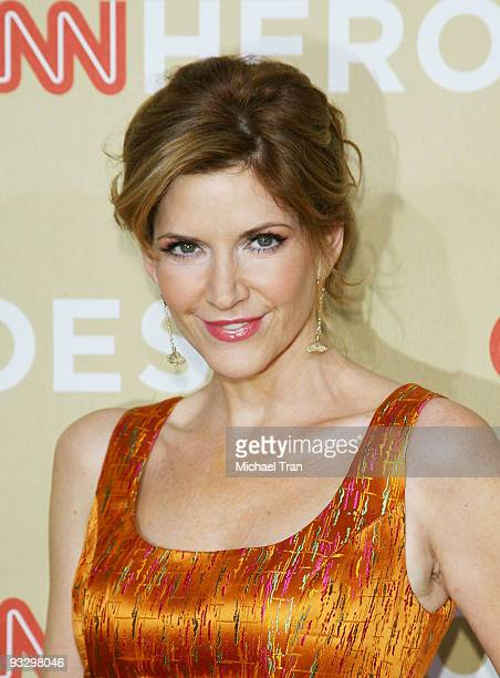 Actress Melinda McGraw arrives to the 3rd Annual CNN Heroes An AllStar Tribute held at the Kodak Theatre on November 21 2009 in Hollywood California