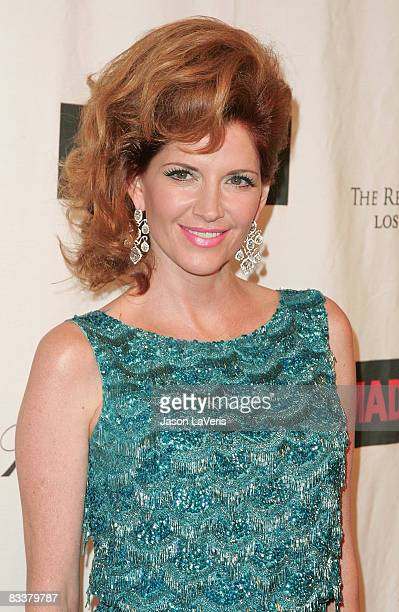 Actress Melinda McGraw attends 'A Night on the Town with Mad Men' at the El Rey Theater on October 21 2008 in Los Angeles California