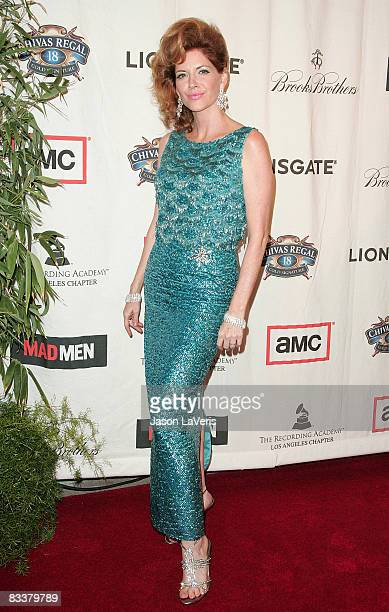 Actress Melinda McGraw attends A Night on the Town with Mad Men at the El Rey Theater on October 21 2008 in Los Angeles California