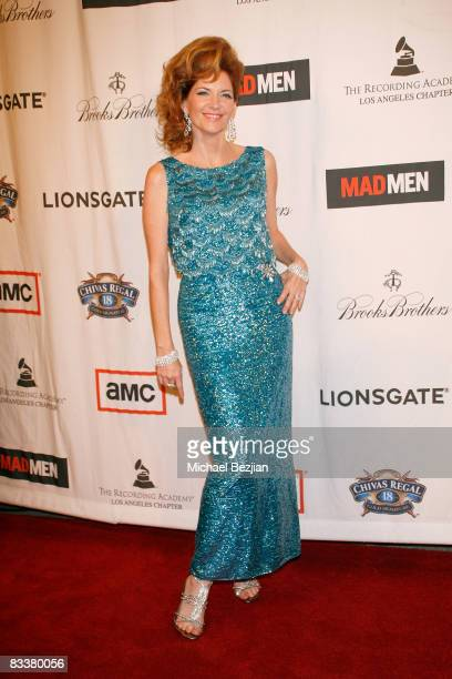 Actress Melinda McGraw attends A Night on the Town with Mad Men Revue Arrivals on October 21 2008 in Los Angeles California