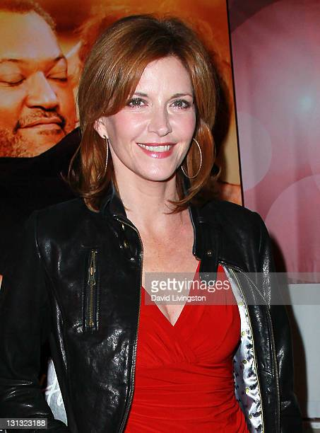 Actress Melinda McGraw attends Disney ABC Television Group The Hallmark Hall of Fame premiere of 'Have A Little Faith' at Fox Studios on November 3...