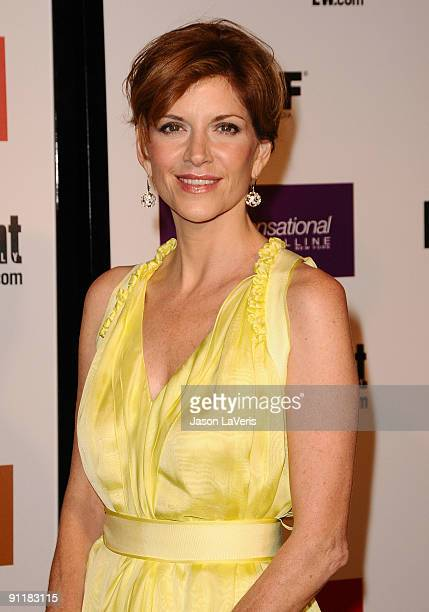 Actress Melinda McGraw attends Entertainment Weekly And Women In Film's 7th annual preEmmy party at Restaurant at The Sunset Marquis Hotel on...