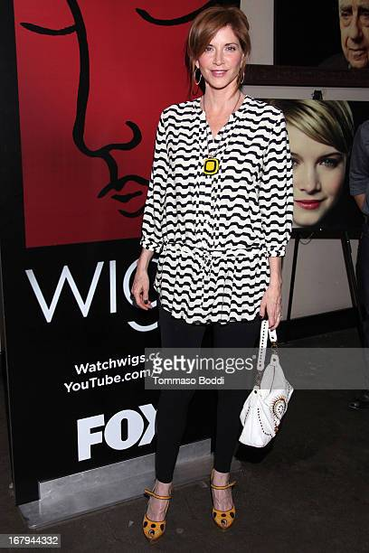Actress Melinda McGraw attends the 1 year anniversary celebration for the WIGS Digital Channel held at Akasha on May 2 2013 in Culver City California