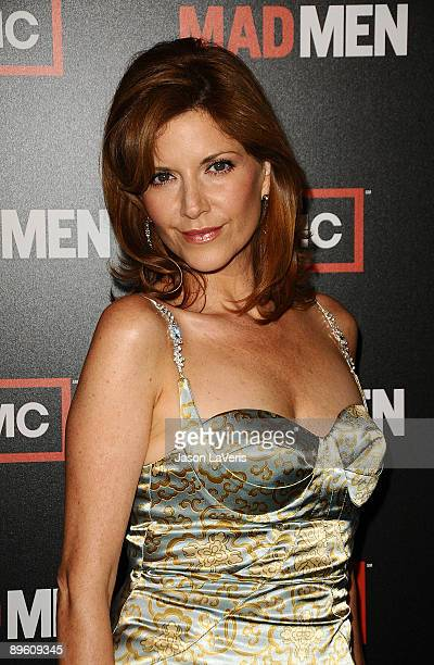 Actress Melinda McGraw attends the 3rd season premiere of 'Mad Men' at the Directors Guild Theatre on August 3 2009 in West Hollywood California