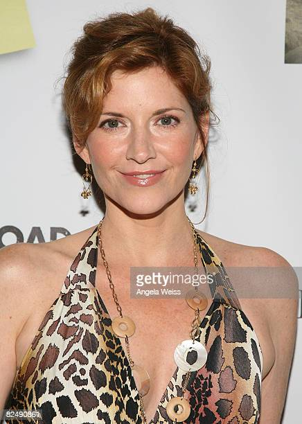 Actress Melinda McGraw attends the Anywhere Road's DVD Release Party for 'Outside Sales' at the House Of Blues on August 20 2008 in Los Angeles...