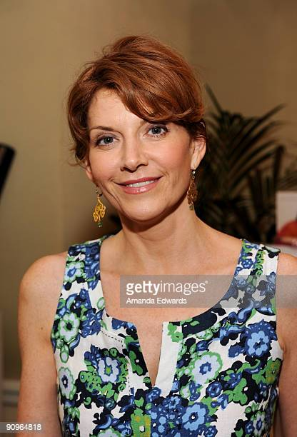 Actress Melinda McGraw attends the DPA preEmmy Gift Lounge at the Peninsula Hotel on September 18 2009 in Beverly Hills California