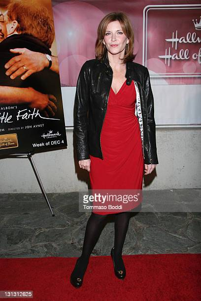 Actress Melinda McGraw attends the 'Have A Little Faith' Los Angeles premiere held at the Fox Studio Lot on November 3 2011 in Century City California