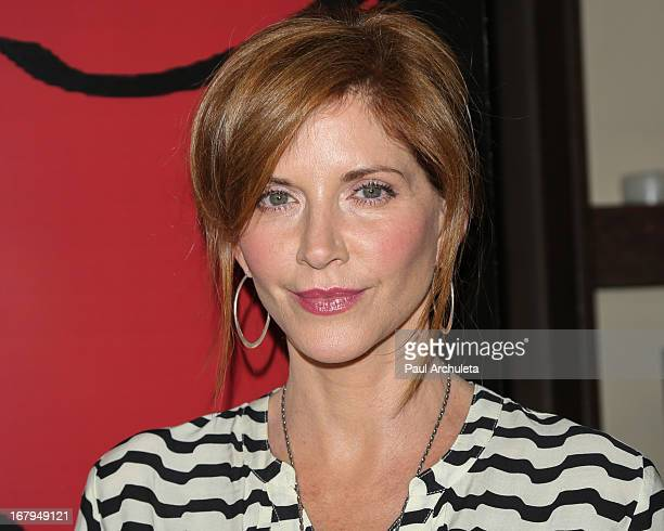 Actress Melinda McGraw attends the one year anniversary celebration for the WIGS digital channel at Akasha Restaurant on May 2 2013 in Culver City...