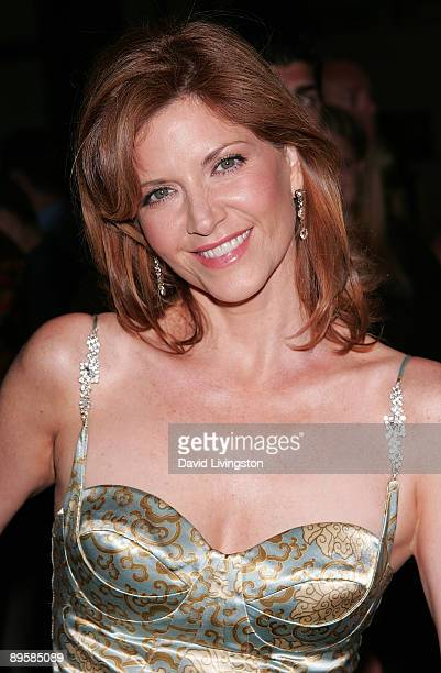 Actress Melinda McGraw attends the premiere of AMC's 'Mad Men' Season 3 at the Directors Guild of America on August 3 2009 in Los Angeles California