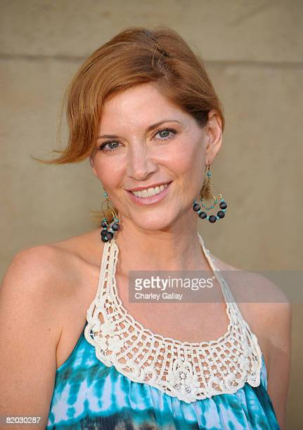 Actress Melinda McGraw attends the premiere of 'Mad Men Season 2' at the Egyptian theater on July 21 2008 in Los Angeles California
