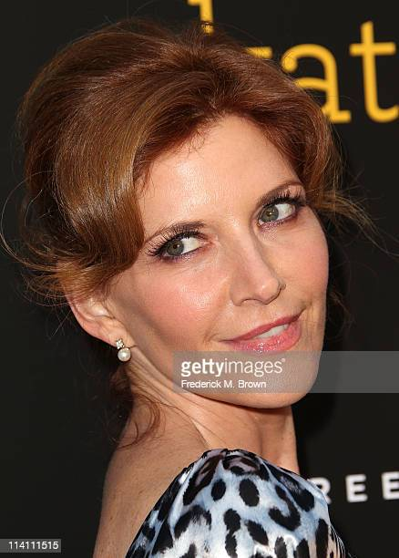 Actress Melinda McGraw attends the 'Skateland' film premiere at the Arclight Theater on May 11 2011 in Hollywood California