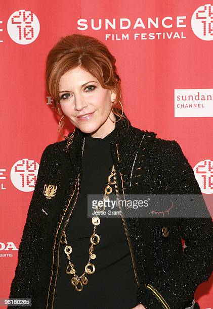 Actress Melinda McGraw attends the 'Skateland' premiere during the 2010 Sundance Film Festival at Racquet Club Theatre on January 25 2010 in Park...