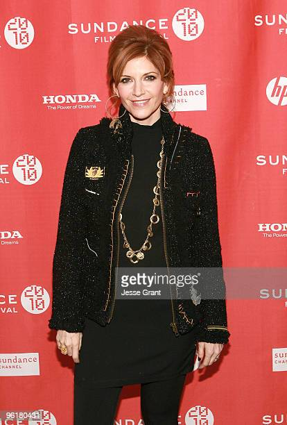 Actress Melinda McGraw attends the Skateland premiere during the 2010 Sundance Film Festival at Racquet Club Theatre on January 25 2010 in Park City...