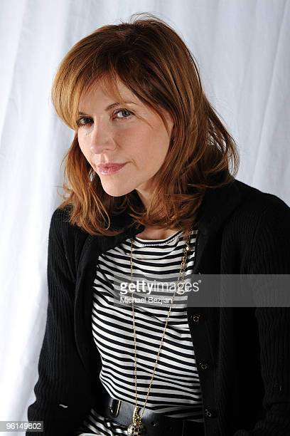 Actress Melinda McGraw poses at the House of Hype portrait studio on January 24 2010 in Park City Utah
