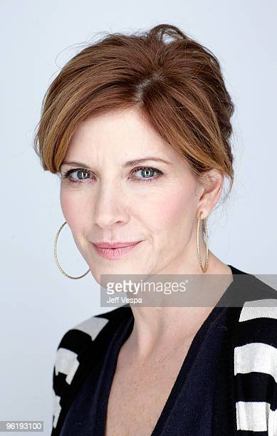 Actress Melinda McGraw poses for a portrait during the 2010 Sundance Film Festival held at the WireImage Portrait Studio at The Lift on January 25...