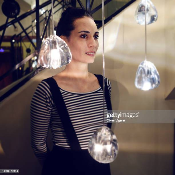 Actress Melisa Sozen is photographed for Self Assignment, on April, 2018 in Cannes, France. . .
