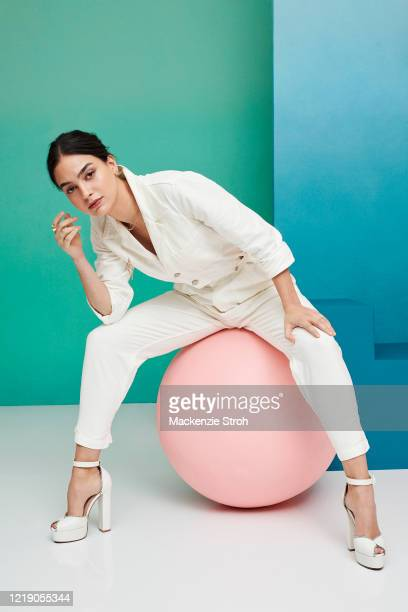 Actress Melissa Barrera is photographed for Entertainment Weekly Magazine on February 27 2020 at Savannah College of Art and Design in Savannah...