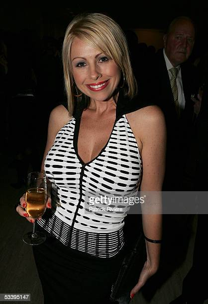 Actress Melissa Bell attends the launch of TV executive Reg Grundy's photographic book 'The Wildlife of Reg Grundy' at the Art Gallery of NSW on...