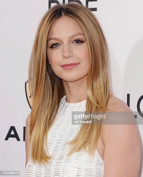 Actress Melissa Benoist arrives at the Los Angeles Premiere 'The Longest Ride' at TCL Chinese Theatre IMAX on April 6 2015 in Hollywood California