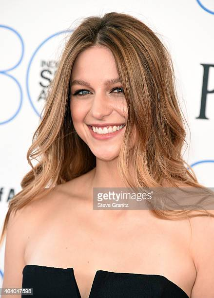 Actress Melissa Benoist attends the 2015 Film Independent Spirit Awards at Santa Monica Beach on February 21 2015 in Santa Monica California
