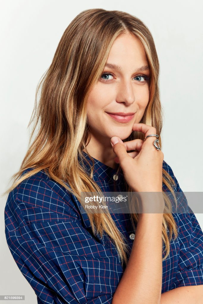 Actress Melissa Benoist from CW's 'Supergirl' poses for a portrait during Comic-Con 2017 at Hard Rock Hotel San Diego on July 22, 2017 in San Diego, California
