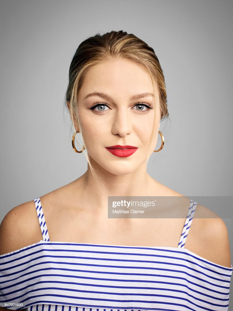 Actress Melissa Benoist from 'Supergirl' is photographed for Entertainment Weekly Magazine on July 23, 2016 at Comic Con in the Hard Rock Hotel in San Diego, California.