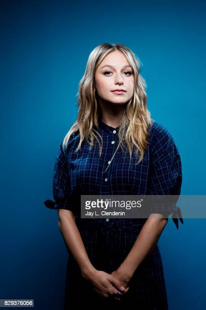 Actress Melissa Benoist from the television series Supergirl is photographed in the LA Times photo studio at ComicCon 2017 in San Diego CA on July 22...