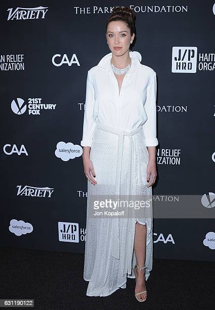 Actress Melissa Bolona arrives at the 6th Annual Sean Penn & Friends HAITI RISING Gala Benefiting J/P Haitian Relief Organization at Montage Beverly...
