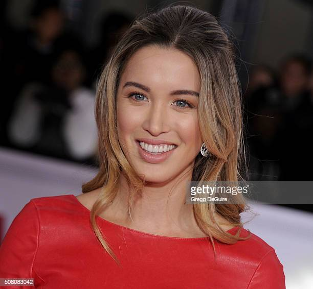 Actress Melissa Bolona arrives at the premiere of Universal Pictures' Hail Caesar at Regency Village Theatre on February 1 2016 in Westwood California